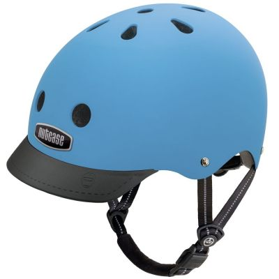 Casque Nutcase Supersolid Street Bay Blue