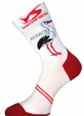 Chaussettes Ventura Socks Carbone Région Alsace