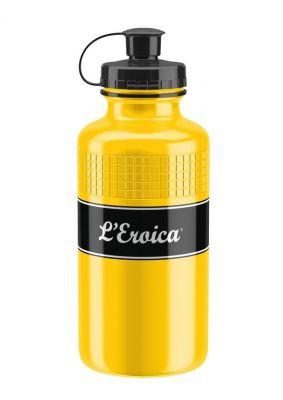 Bidon Elite L'Eroica Vintage 500 ml Jaune