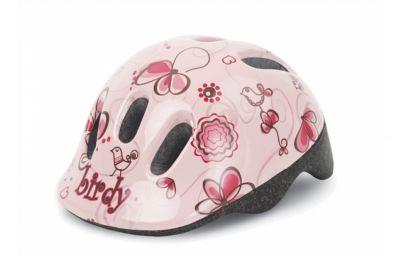 Casque vélo enfant Polisport XXS Rose Birdy