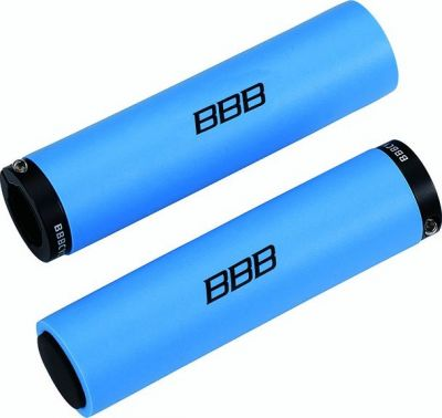 Poignées BBB StickyFix 130 mm Bleu - BHG-35