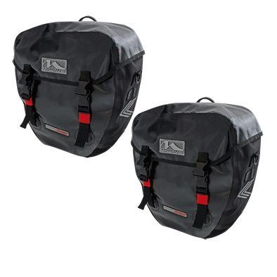 Sacoche vélo M-Wave Canada étanche Porte-bagages AR 40 L Noir