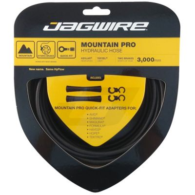 Kit durite hydraulique Jagwire Mountain Pro - Black Carbon