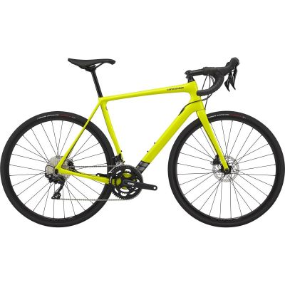 Vélo Route Cannondale Synapse Disc Shimano 105 Jaune Nuclear 2020
