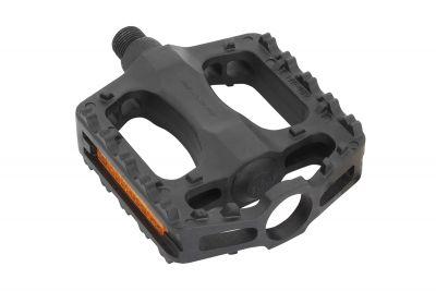 Pédales plates Massi M612 polypropylène Noir