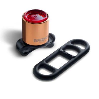 Éclairage arrière à LED Brooks Femto Rear Light Cuivre