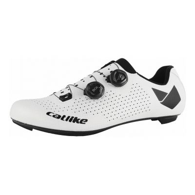 Chaussures Route Catlike Whisper Oval Carbon Blanc