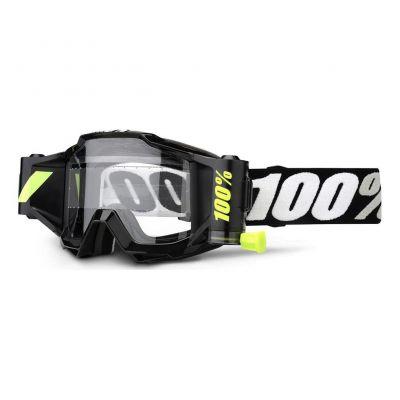 Masque 100% Accuri Forecast Enfant Black/Clear