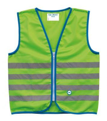 Gilet de sécurité enfant Wowow Fun Jacket Vert réfléchissant