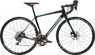 Vélo route Cannondale Synapse Carbon Disc Ultegra WMN Noir/Bleu