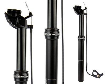 Tige de selle télescopique KS E10 Remote 30.9/100 mm/385 mm