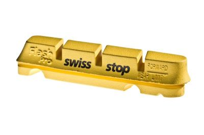 Patins SwissStop FlashPro Carbone (Jeu de 4) Jaune