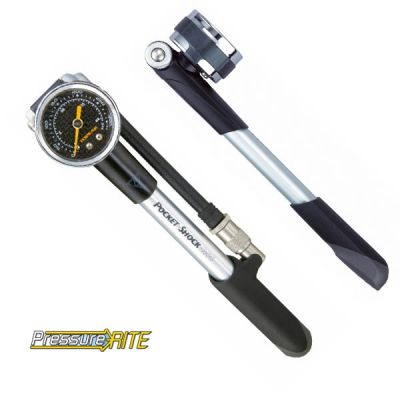 Pompe Topeak pour suspensions Pocket Shock DXG (manomètre)