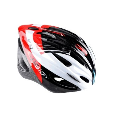 Casque Optimiz O-300 Vision Rouge/Blanc/Noir Verni