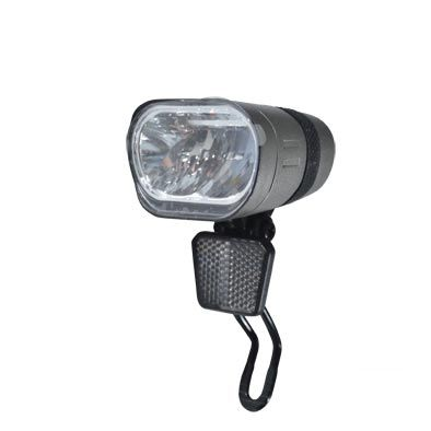 Éclairage AV Spanninga Axendo Xe 60 LUX Sur fourche Sur VAE 6-36V Gris