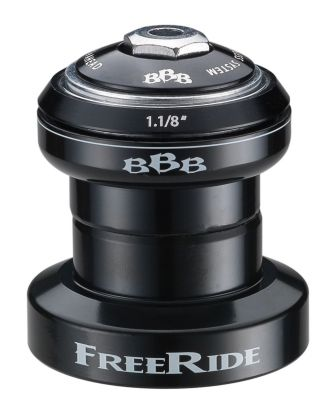"""Jeu de direction BBB FreeRide Headset 1.1/8"""" avec topcap - BHP-52"""