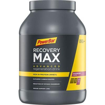 Boisson de récupération Powerbar Recovery Max 1,114 kg Framboise
