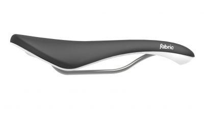 Selle Fabric Scoop Radius Elite 142 mm Noir/Blanc