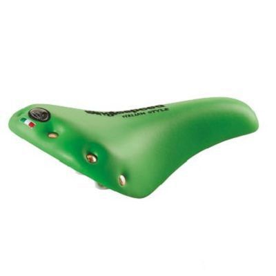Selle Fixie/Route Monte Grappa SK 031 à rivets Vert