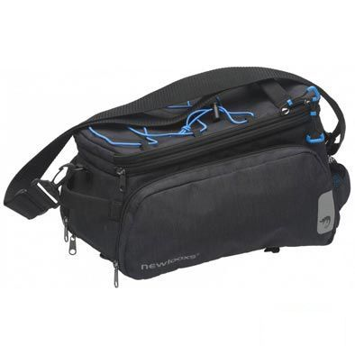 Sacoche New Looxs Sports Porte-bagages comp. Racktime 32 L Noir