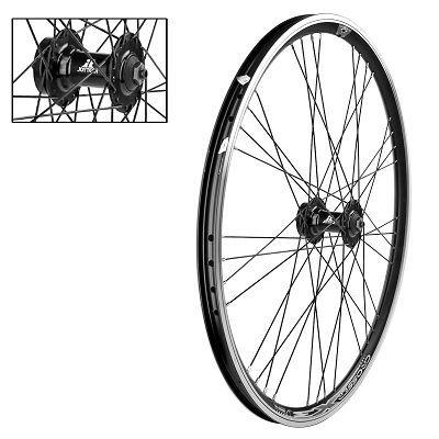 roue avant 26 vtt mach1 moyeu shimano double paroi alu blocage noire vendre sur ultime bike. Black Bedroom Furniture Sets. Home Design Ideas