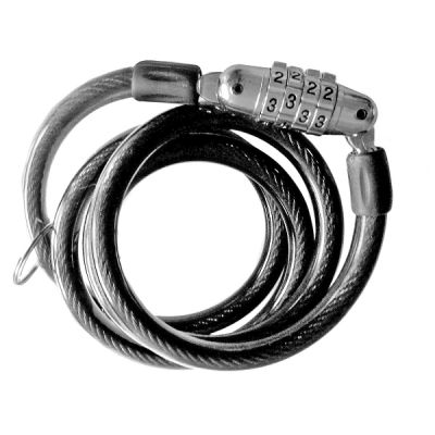 Antivol à code Alt-1 100x80x10 mm Noir