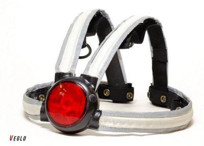 Éclairage AR Veglo Commuter X4 harnais haute visibilté