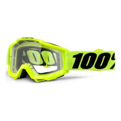 Masque 100% Accuri Fluo Yellow/Clear