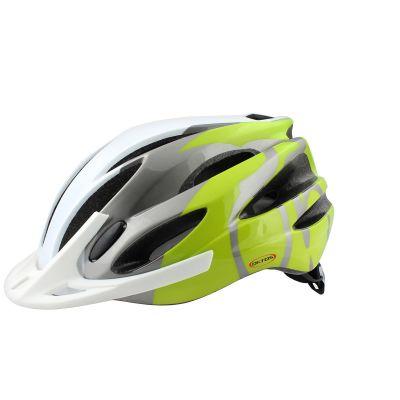 Casque vélo Oktos Vert/Blanc