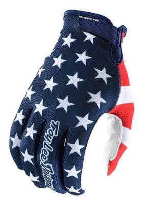 Gants Troy Lee Designs Air Americana Navy/Rouge