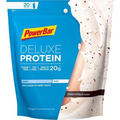 Boisson de récupération Powerbar Deluxe Protein 500 g Stracciatella