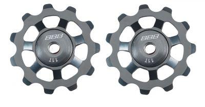 Galets de dérailleurs BBB AluBoys 11T (gris) - BDP-21