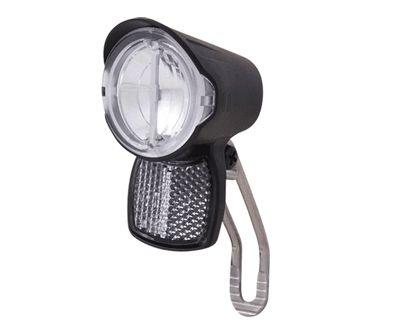 Éclairage AV Spanninga Spanninga Brio Xdo LED 15 Lux Dynamo Noir