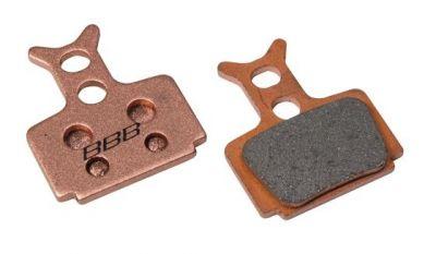 Plaquettes BBB comp. Formula Mega/The One/R1/RX métalliques - BBS-67S