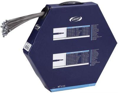 Boîte de 100 câbles frein BBB VTT BrakeWire 1.5x1700 mm - BCB-41R