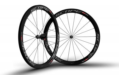Roues Scope R4C 45 mm Shimano 11V Gris (Paire)