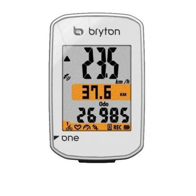 GPS Bryton Rider One E Blanc