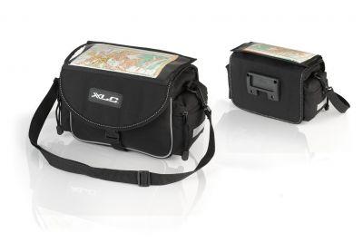 Sacoche de guidon XLC Traveller BA-S65 7 L Noir / Anthracite