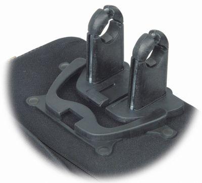 Clip de fixation sacoche Massi pour guidon D. 31,8 mm