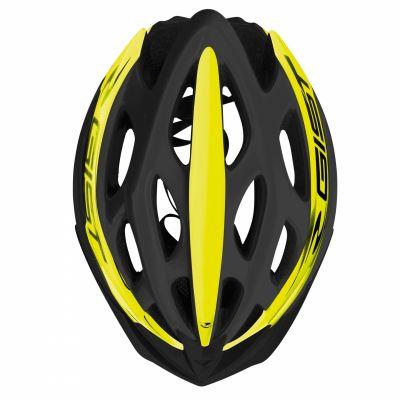Casque Vélo GIST Faster Noir/Jaune Fluo