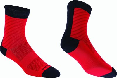Chaussettes BBB ThermoFeet Noir/Rouge - BSO-17