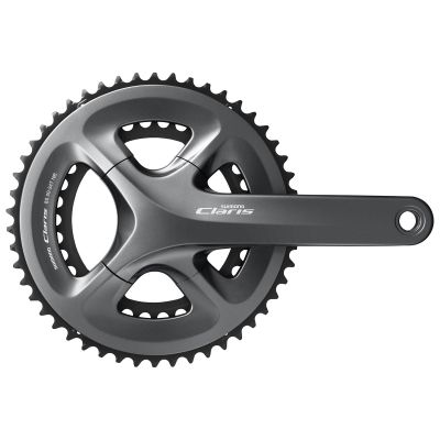 Pédalier Shimano Claris R2000 50/34 8/9V 170 mm Hollowtech Noir