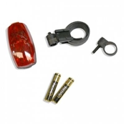 Éclairage arrière Spanninga compact Rear Flash (À piles)
