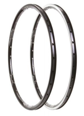 """Cercle 20"""" Halo JX-2 20 x 1-13/8 28 rayons noir"""