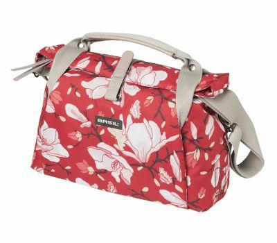 Sac à main BASIL Magnolia Étanche Clip compatible fixation VAE BASIL et KLICKfix 7 L Poppy Rouge