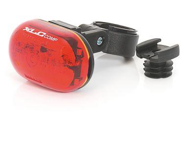 Éclairage arrière XLC Comp Oberon 5X CL-R09 À piles Rouge