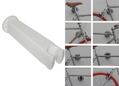 Support mural Peruzzo Cool Bike Rack 360° Blanc