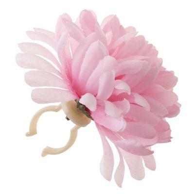 Décoration BASIL Dahlia attache-rapide Rose