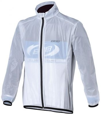 Veste imperméable BBB StormShield Transparent - BBW-265