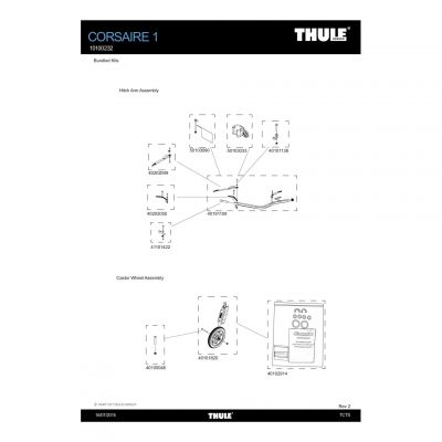 Sangle d'attelage Thule - 40202049